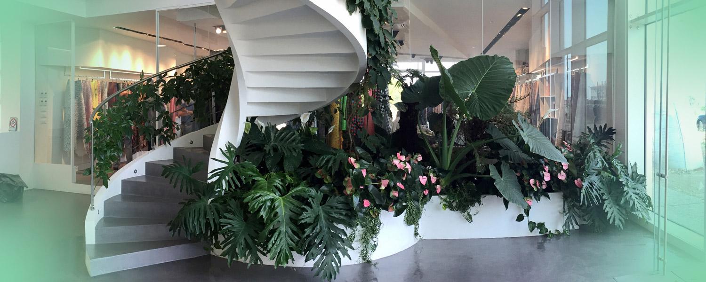 Lavoro Fashion Garden per HOME PAGE